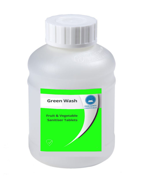 Green Wash – Fruit & Vegetable Sanitiser Tablets