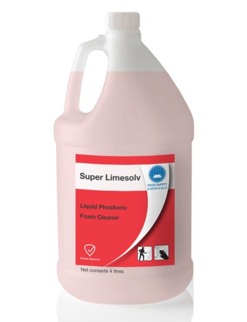Super Limesolv – Phosphoric Acid Cleaner