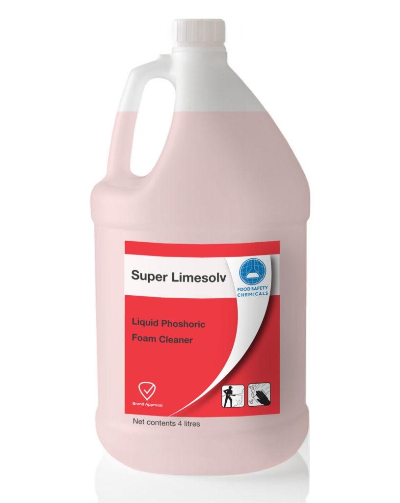 Super Limesolv – Phosphoric Acid Cleaner