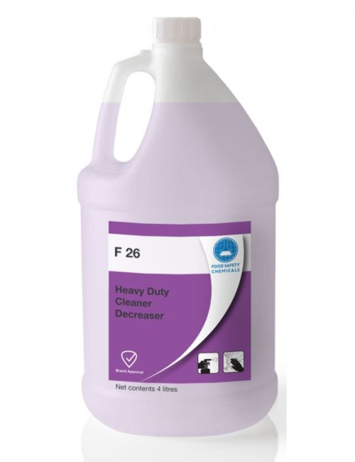 F 26 Heavy Duty Cleaner Degreaser