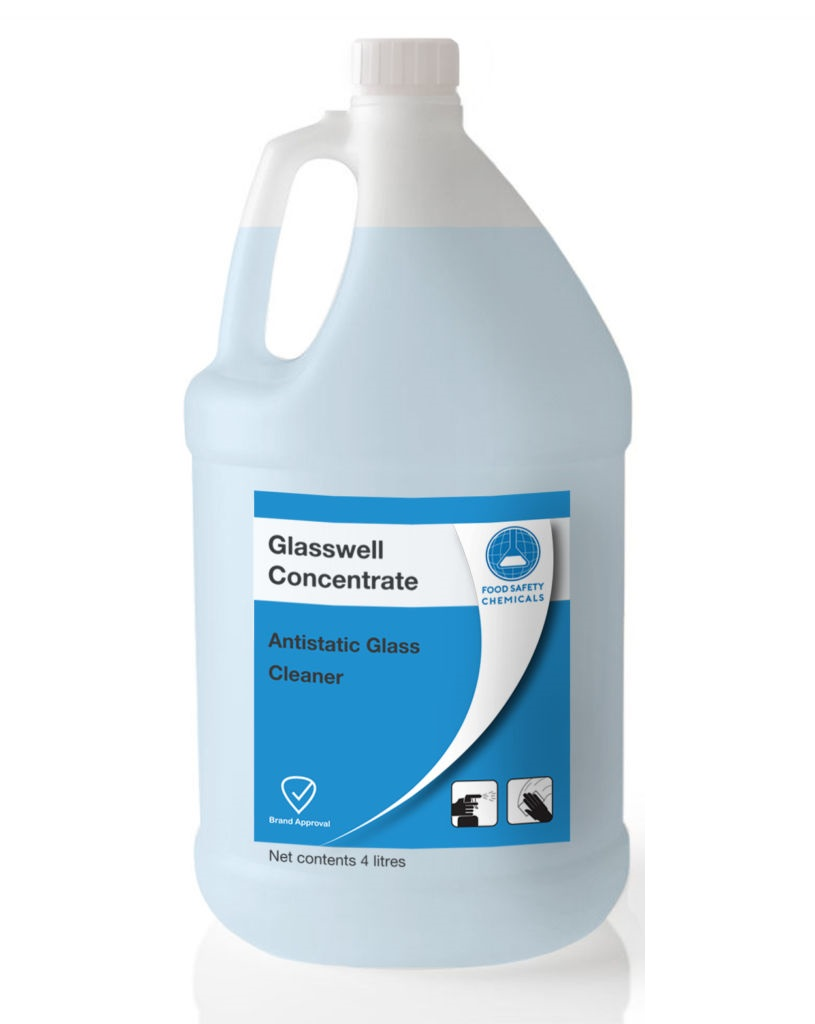 Glasswell  Antistatic Glass Cleaner – Concentrate