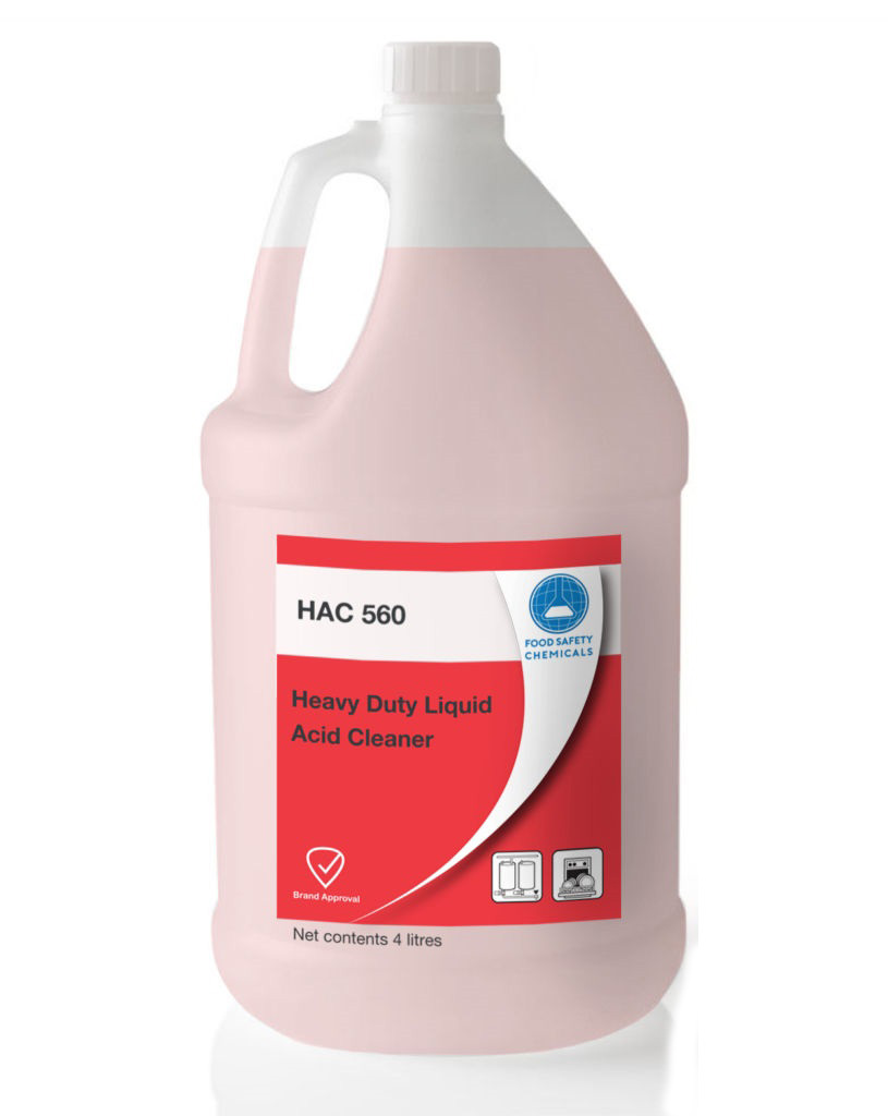 HAC 560 – Heavy Duty Liquid Acid Cleaner