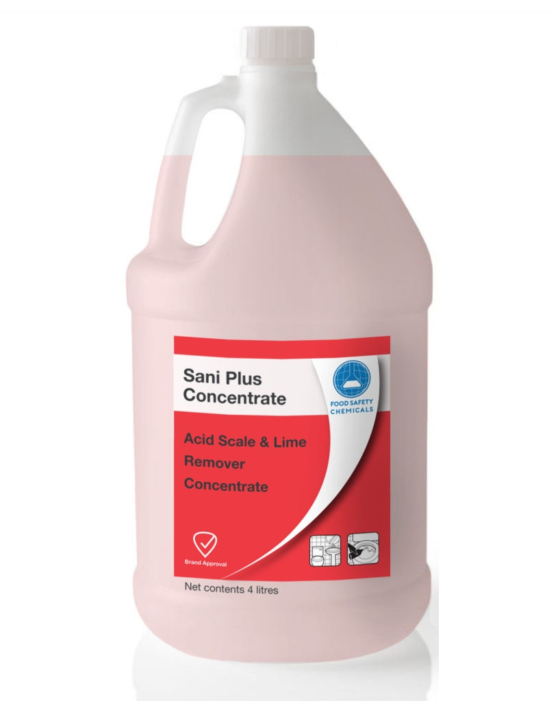 Sani Plus – Acid Scale & Lime Remover – Concentrate